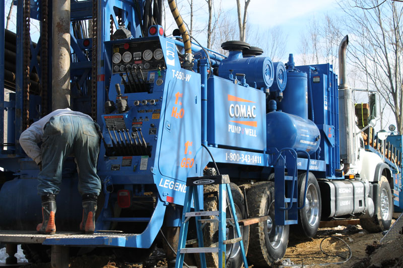 Artesian Well Drilling, Geothermal Energy, Well Pumps, and